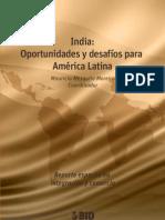 India des y Desafios Para America Latina