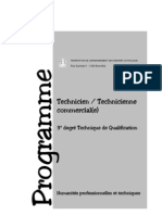 Technicien Commercial D3TQ(2002 3100)