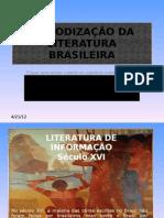 PERIODIZAÇÃO DA LITERATURA BRASILEIRA