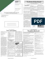 Newsletter #3 April 2007