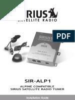 Sirius SIR-ALP1 Manual