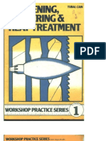 Workshop Practice Series - 01 - Hardening Tempering and Heat Treatment