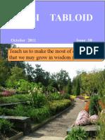 Tabloid October 2011