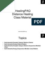 Distance Healing Class Material