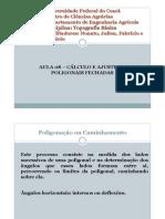 aula08 CÁLCULO E AJUSTE DE POLIGONAIS FECHADAS
