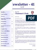 41 ICSI Mysore Newsletter May 2007