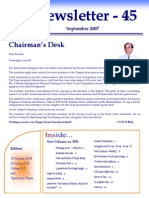 ICSI Mysore Newsletter September 2007