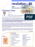 46 ICSI Mysore Newsletter October 2007