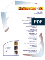 52 ICSI Mysore E-Newsletter May 2008