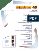 53 ICSI Mysore E-Newsletter June 2008