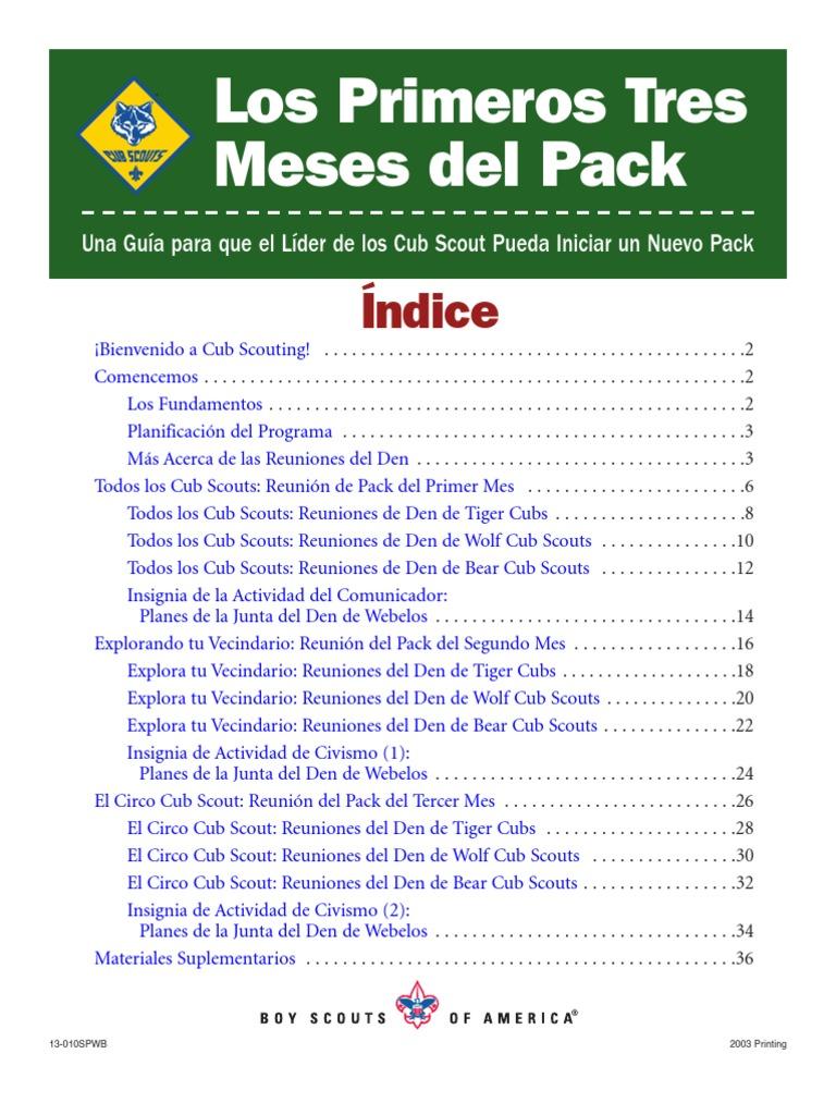 Primeros 3 Meses Del Pack