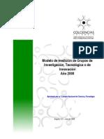 Modelo medición 2008