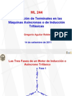 Numeración de Terminales en las Máquinas Asíncronas o de Inducción Trifásicas