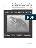 O Papel Dos Think Tanks