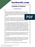 Absurdistan in America by Stephen Baskerville PhD