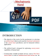Bio Mechatronic Hand