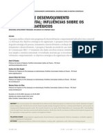 Programas de desenvolvimento comportamental influências sobre os objetivos estratégicos