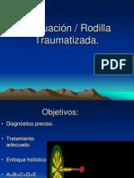 Evaluación Rodilla Traumatizada.