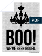 Halloween BOO Sign 2011 - The TomKat Studio
