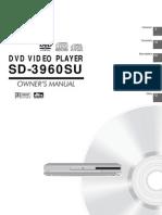 Toshiba Dvd Sd-3960su