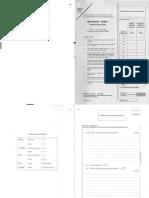 2006 Mathematics Paper1
