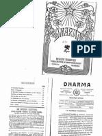 Dharma - Junio 1913