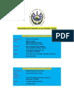Consul a Dos de El Salvador en Los Estados Unidos