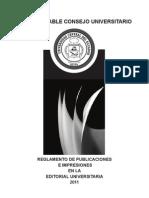Reglamento de Publicaciones UCE