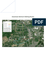 Downtown Belmont NC Walking Routes