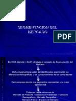 Segmentación Del Mercado (Jueves, 16/11/06)