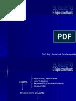 El Sujeto Como Usuario (Jueves, 23/11/06)