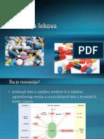 Resorpcija lekova