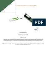 Cómo usar un dispositivo de memoria USB como RAM-