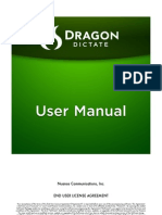 Dragon Dictate for Mac User Manual