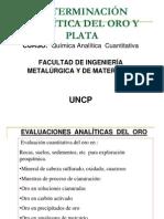 Determinacin Analtica Del Oro