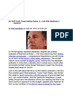 29-09-11 As GOP Guts Food Safety Rules, E. Coli Hits Boehner's District