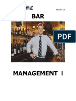 Bar Management I