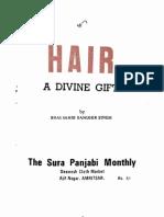 Hair - A Divine Gift - Bhai Sahib Randhir Singh