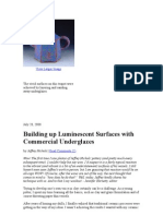 Building Up Luminescent Surfaces With Commercial Under Glazes