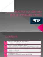 Pressure Parts 500MW Boiler