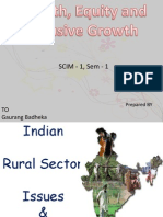 indian rural sector issue and challenges