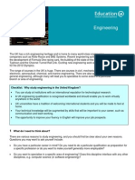 Learning Info Sheets Engineering
