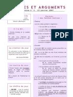 Données Et Arguments n° 2 - Campagne 2007 - Julien DRAY
