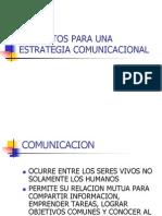 Elementos Para Una Estrategia Comunicacional