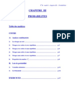 1B-Probabilites Cours+Exercices