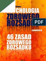 Psychologia i 46 Zasad Zdrowego Rozsadku eBook, Darmowe Ebooki, Darmowy PDF, Download
