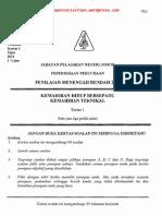 Pmr Trial 2011 Khkt Q&A (Johor)