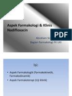 Pharmacological & Clinical Aspects of Nadifloxacin