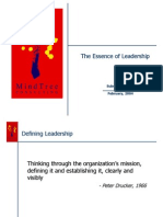 Essence of Leadership