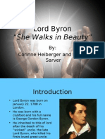 Lord Byron by CH and RS